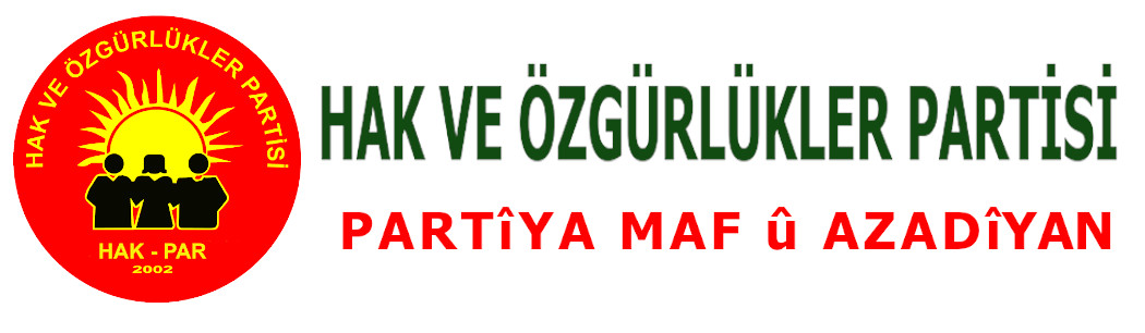 HAK VE ÖZGÜRLÜKLER PARTİSİ