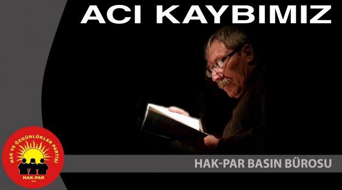 ACI KAYBIMIZ
